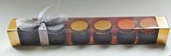Шоколадные бутылочки