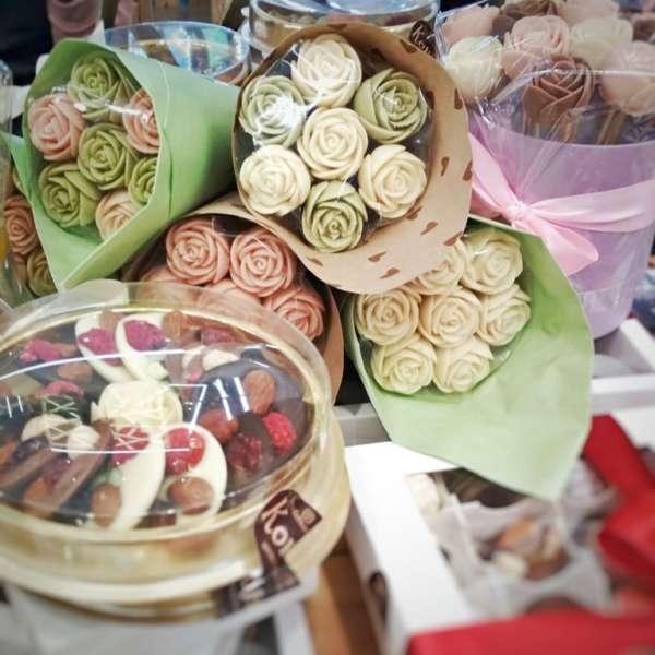 шоколадные розы мендианты