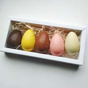Набор из 5 шоколадных яиц