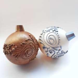 шоколадные ёлочные игрушки