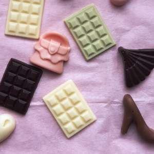 фигурный шоколад Леди